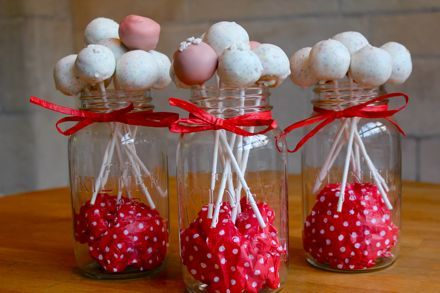Cute idea w/ mason jars!