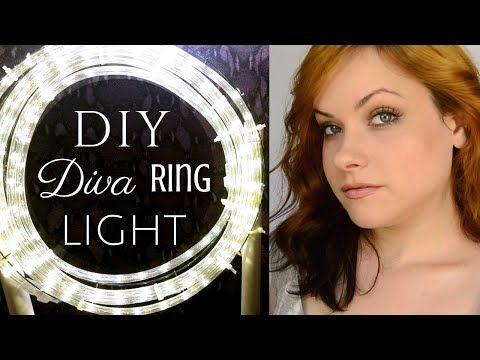 RING LIGHT DIY // Affordable Video Lighting - YouTube