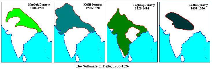 Delhi Sultanate Tughlaq Dynasty, Sayyids Dynasty, Lodi Dynasty Tughlaq Dynasty (1320 – 1414) Founded by