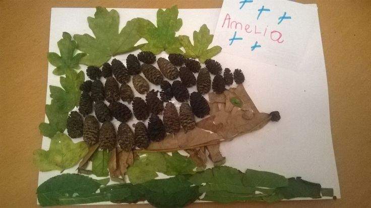 We love this hedgehog from Amelia! http://wildlifewatch.org.uk/nature-art-competition