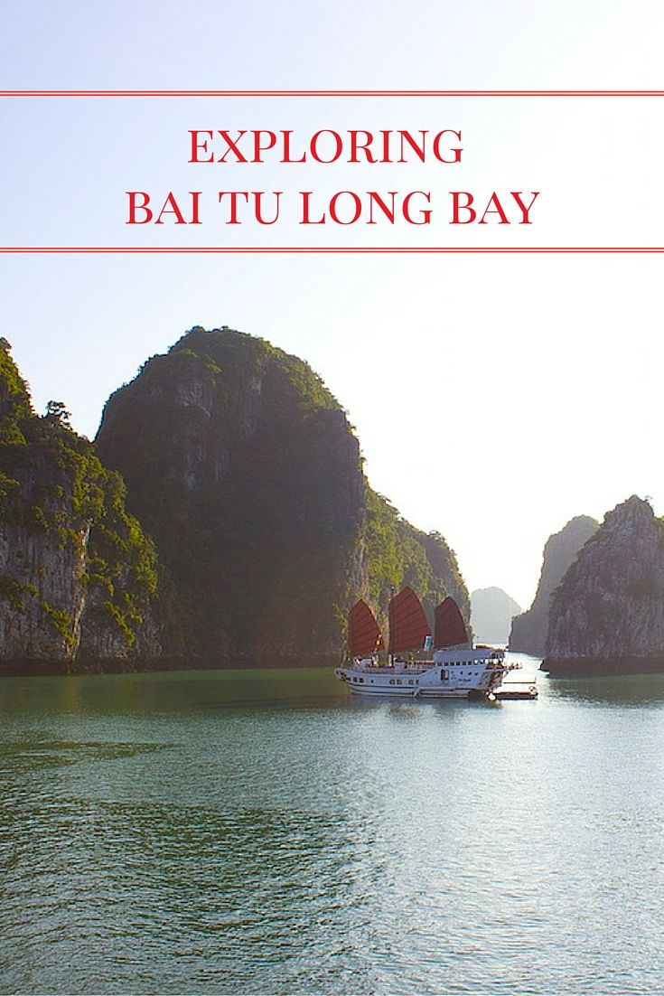 Halong Bay vs. Bai Tu Long Bay. What's the difference? Bai Tu Long Bay in Vietnam is part of the UNESCO World Heritage site that is much less populated with tourists and other boats than Halong Bay. Only certain companies have licenses for Bai Tu Long Bay, giving you a glimpse into this natural, karst-filled wonderland.
