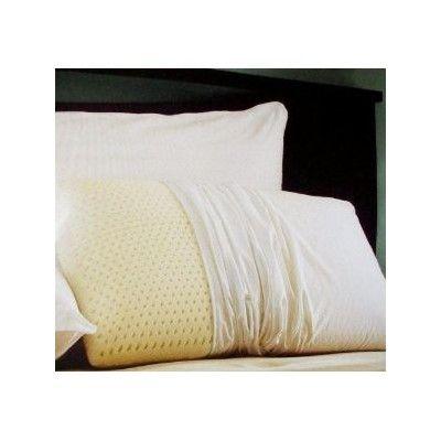 Deluxe Comfort Dream Latex Foam Pillow Size: Queen