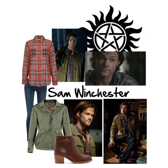 Sam Winchester. Just made this too!