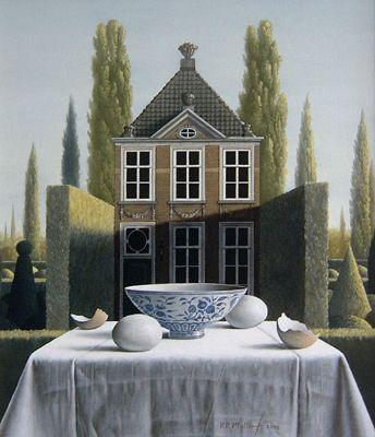 Het huis met de festoenen...Victor  Muller
