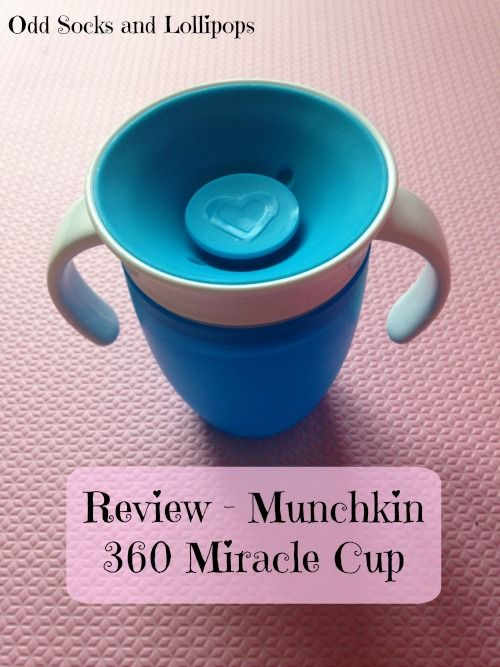 Munchkin 360 Miracle Cup - great sippy cup alternative