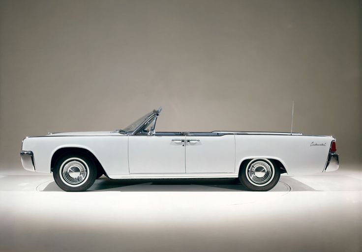 The 1962 Lincoln Continental Four Door Convertible Came