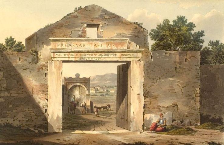 Πύλη των Μεσογείων ή της Μπουμπουνίστρας, περίπου στη συμβολή Αμαλίας και Όθωνος. Αρχές 19ου αιώνα. Edward Dodwell.  http://el.wikipedia.org/wiki/Πύλη_της_Μπουμπουνίστρας  http://www.paliaathina.com/gr/pages/181/plateia-syntagmatos.html (1η παράγραφος).
