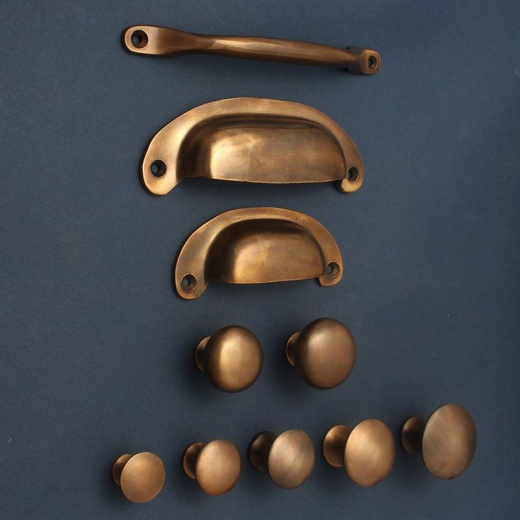 Aged Brass Cabinet Knobs & Drawer Pull Handles Our…