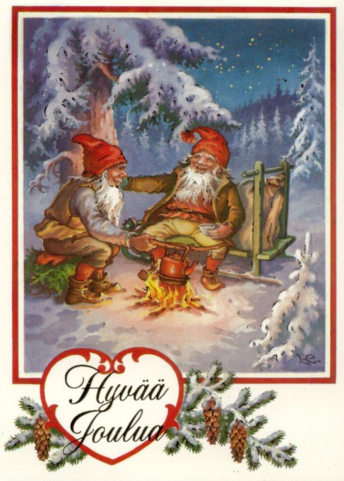 Lars Carlsson Christmas Gnomes Lars Carlsson LC Tomtar
