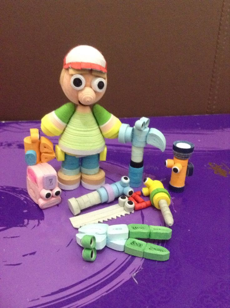handy manny quilling