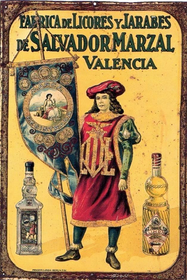 Vintage spanish ad