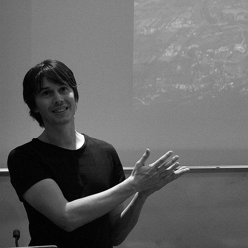Musician and Physicist Prof. Brian Cox: gorgeous, brilliant and talented. The Wonders of Earth indeed!