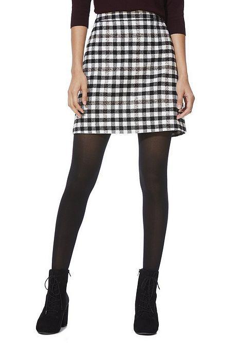 fc5c0a83b052 Tesco direct: F&F Checked A-Line Mini Skirt | dresses/skirts. | Mini ...