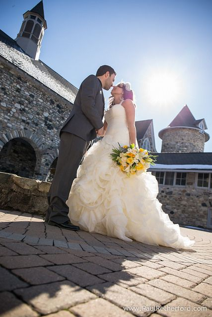 Castle Farms Spring Wedding Queens Tavern East Garden Room Northern Michigan Wedding venue photo by Paul Retherford Wedding Photography, http://www.PaulRetherford.com #Wedding #destination #NorthernMichigan #CastleFarms #Charlevoix #VeraWang #Yellow #Grey #Castle