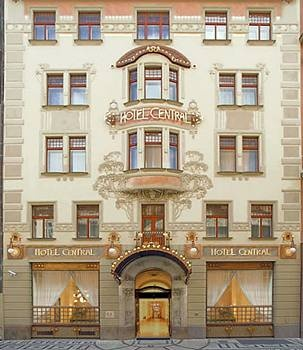 Hotel Centraal, 1900, Hybernska 10