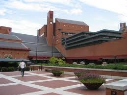 The British Library in London