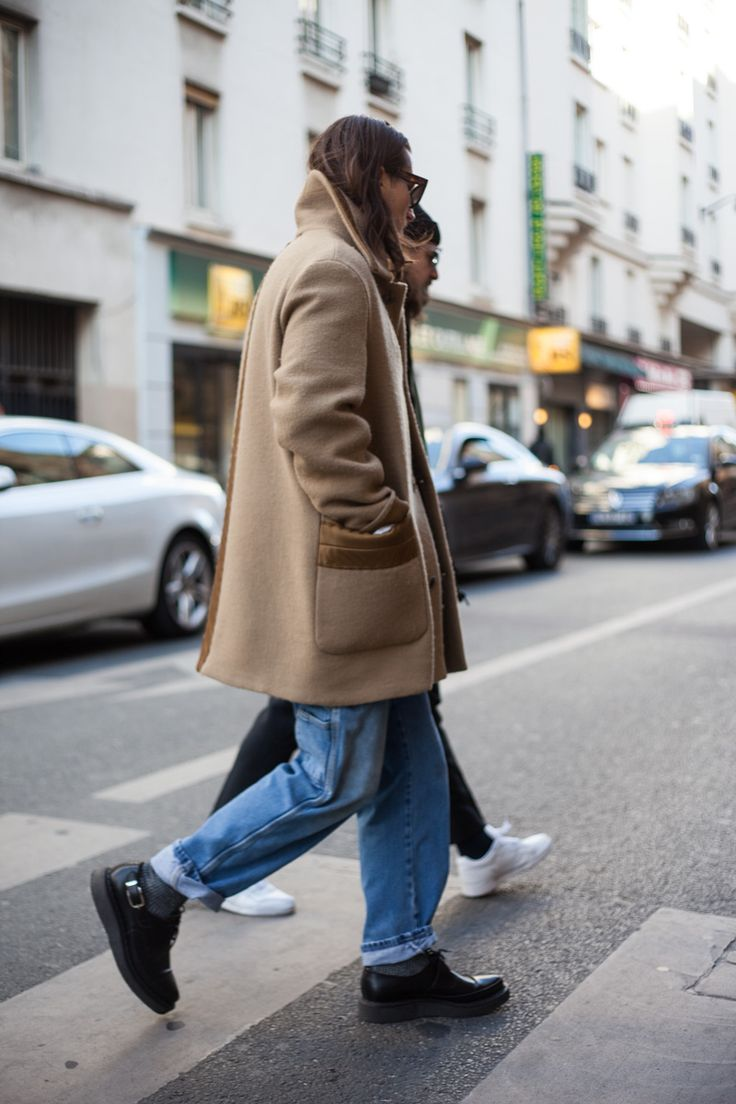 Street style from PFW AW17.