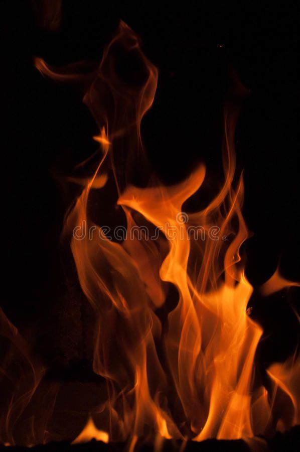 Fire Flames On A Black Background Blaze Fire Flame Texture Background Close Up Ad Background Blaze Fire Textured Background Black Backgrounds Photo