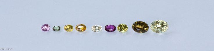 Oval cut size chart #srisrisapphire #sapphire #gems #jewellery #srilanka #japan #australia