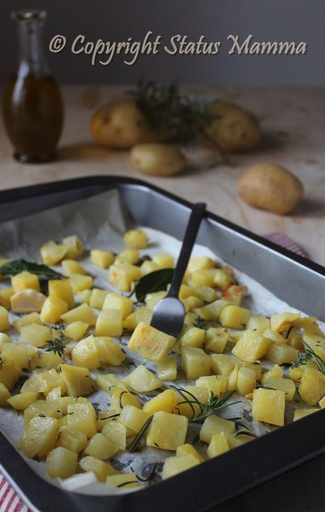 Patate al forno ricetta facile trucchi e segreti tutorial per cottura al forno facile economica Statusmamma gialloblogs tutorial