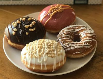 Krispy Kreme Releases Four American-Inspired Donuts Including PB & J ,New York Cheesecake,Pecan Pie and Rocky Road