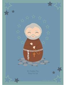 St. Padre Pio printable, free Catholic printables! #catholic #homeschooling #capuchin #saints #christian #catholickids #patronsaintcivildefenseworkers #italy