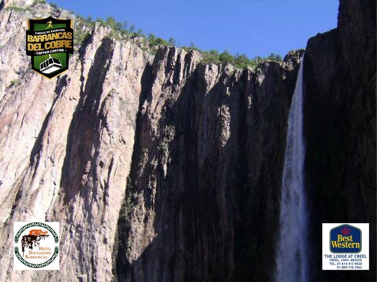 #barrancas #cobre #barrancasdelcobre #turismo#chihuahua#aventura#ciclismo BARRANCAS DEL COBRE te dice. visita el Parque Nacional Cascada de Basaseachi El descubrimiento de sus cascadas en el siglo XVIII lo ha convertido al día de hoy en un polo de atracción turístico del estado de Chihuahua y del norte del país. www.chihuahua.gob.mx/turismoweb