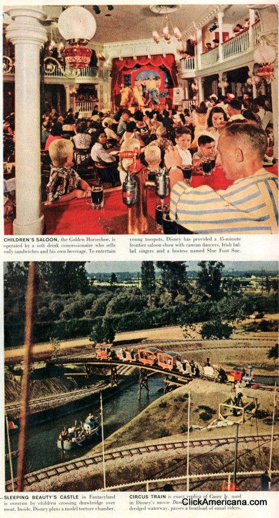 Disneyland opens (1955) When Southern California's Disneyland opened on July 17, 1955, not only were there thousands of kids and their parents in attendance, there were also hoards of media types. Here's a story from Life magazine about the day Walt Disney's first amazing theme park opened — when all you needed.
