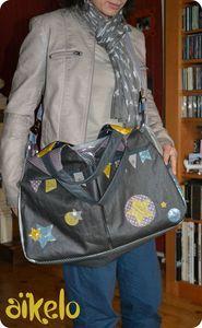 Le super sac à langer d'Aïkelo / pas de tuto mais de jolies photos ! (13/06/13)