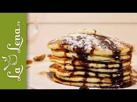 Buttermilk Pancakes (Clatite americane cu iaurt)