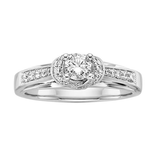 Fred Meyer Jewelers | 1/2 ct. tw. Diamond Engagement Ring