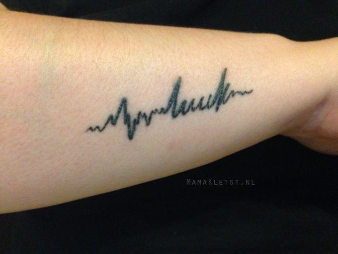 New ink! Ik liet de naam van mijn zoon tatoeëren en dit smaakt natuurlijk naar meer! Heb jij ook een (of meerdere) tattoo(s)?
