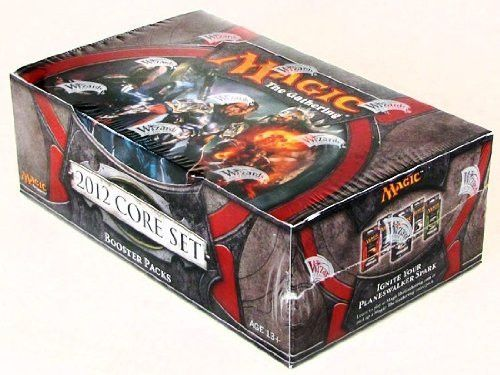Game/Play MTG: Magic The Gathering 2012 Core M12 Sealed Booster Box Kid/Child