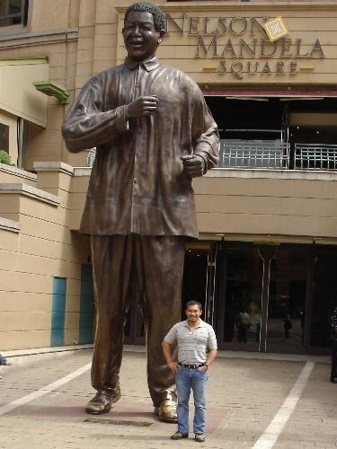 Suburban City - Johannesburg, showing off our giant grandfather