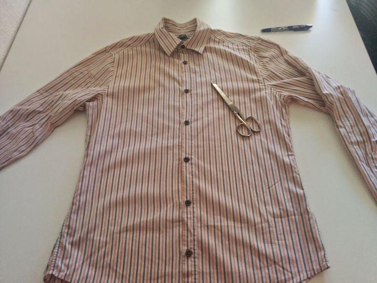 VolandoEntreAgujas: Transformar camisa de hombre en blusa mujer