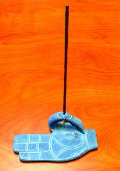 Gray Stone Incense Holder Kino Macgregor website