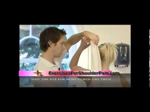 Shoulder Pain Exercises - The Bra Strap Exercise