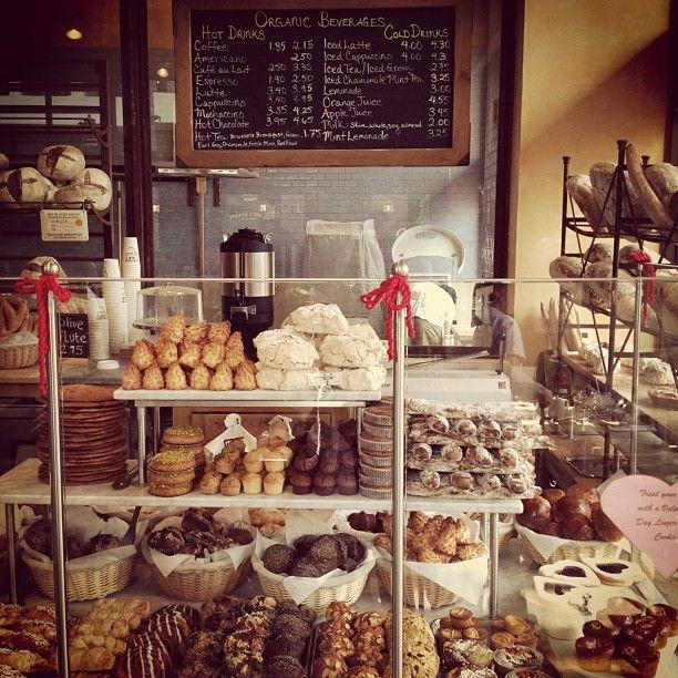 #bakeries #bakery #bake www.AllThingsBaking.org LOVE this display.