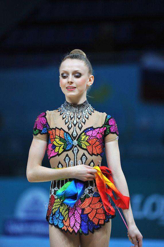 August 29, 2013 - Kiev, Ukraine - JASMINE KERBER of USA performs at 2013 World Championships.
