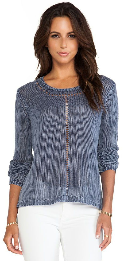 Boatneck Sweater in Escapist