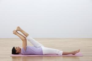 Una postura estupenda para el dolor de espalda baja