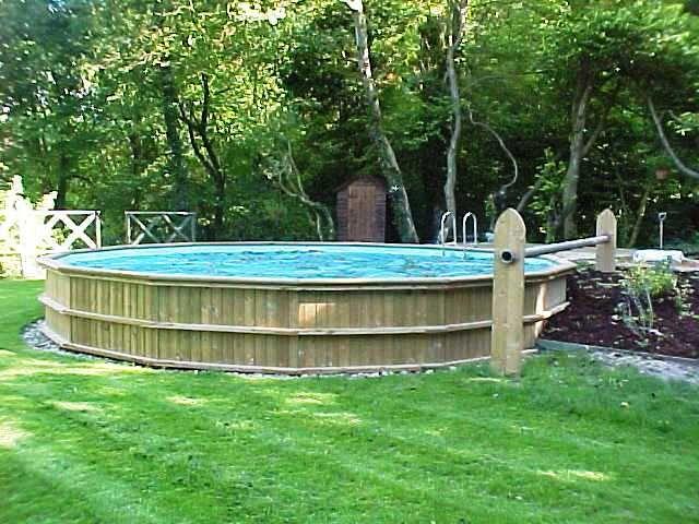 24' Round Folkpool Sapphire Timber pool