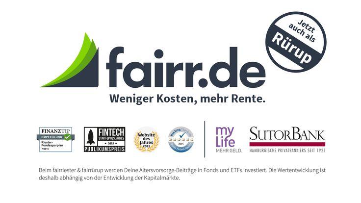fairr.de - Riester- & Rürup-Rente online wechseln