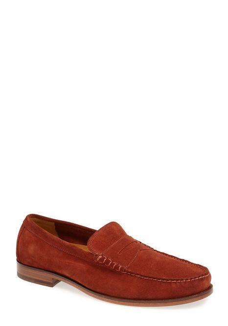 Men's Franco Varucci (#S/SAM-03)  Color Brown  Men's Classic Penny Loafer Dress Shoes