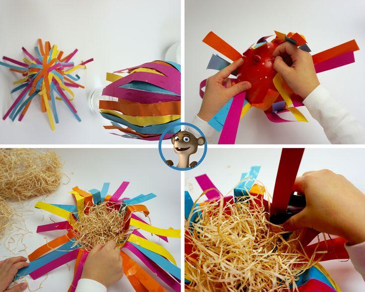 Osterkorb basteln leicht gemacht. Nadine und Blogg von Hallo Bloggi zeigen Dir im limango Magazin wie Du mit Deinem Kind einen Osterkorb basteln kannst.