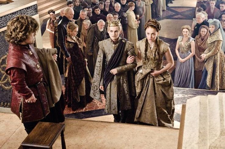 Game of Thrones. Joffrey wearing Rubelli coat. Fabric- 30003-07 Trebisonda