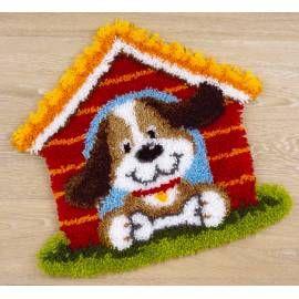 Набор для вышивки ковра Vervaco 0021561-PN Домик щенка