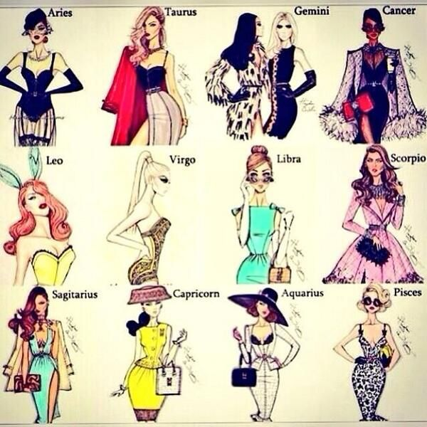 Fashion by Zodiac Sign... #Gemini is like leather & lace, soft & edgy, chic & casual, flirty & fierce... two extremes.
