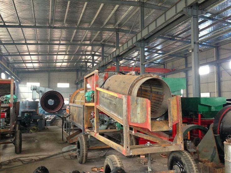 Small Trommel - Jiangxi Shicheng Mine Machinery Factory