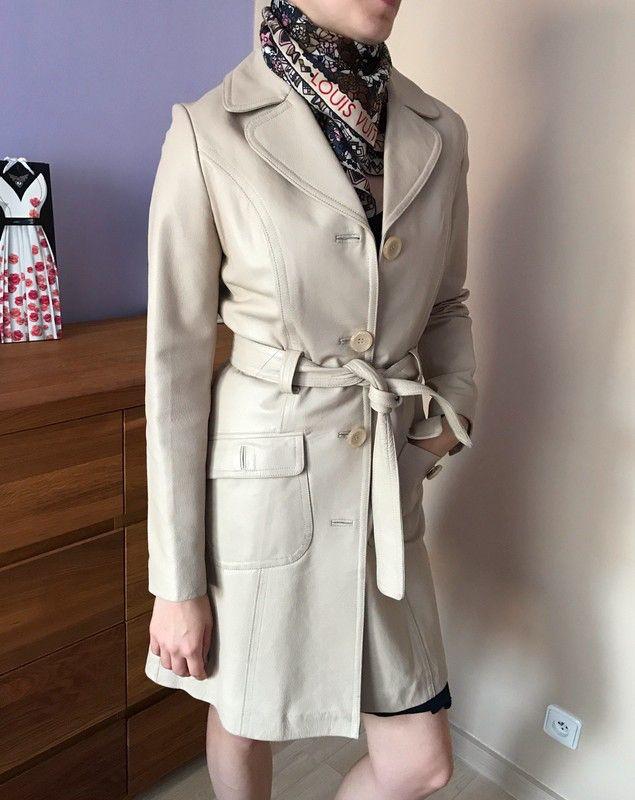 Moje Elegantní kožený kabát Reserved béžové barvy od Reserved! Velikost 36 / 8 / S za1 290 Kč. Mrkni na to: http://www.vinted.cz/damske-obleceni/kratke-kabatky/17599936-elegantni-kozeny-kabat-reserved-bezove-barvy.